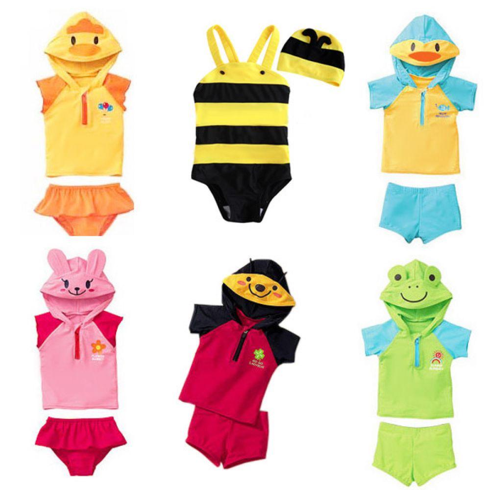 동물시리즈 수영복 (12개월-6세)700028 플랩캡 수영복 유아수영복 전신수영복 수영복세트 유아래쉬가드 엠케이 여아수영복