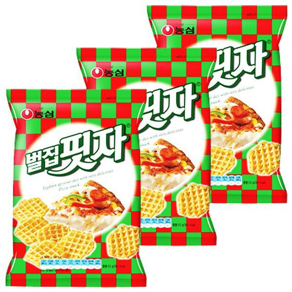 농심) 벌집핏자 83gx10개 이태리풍 피자맛 아메리카풍 과자 스낵 간식 대량도매 도매