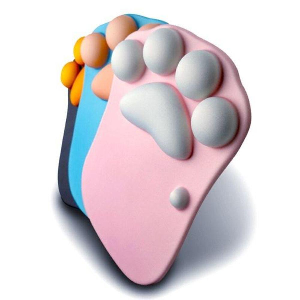 지클릭커 고양이발 마우스패드 핑크 컴퓨터용품 PC용품 컴퓨터악세사리 컴퓨터주변용품 네트워크용품 마우스패드 젤패드 손목보호패드 패드 컴퓨터주변기기 소모품