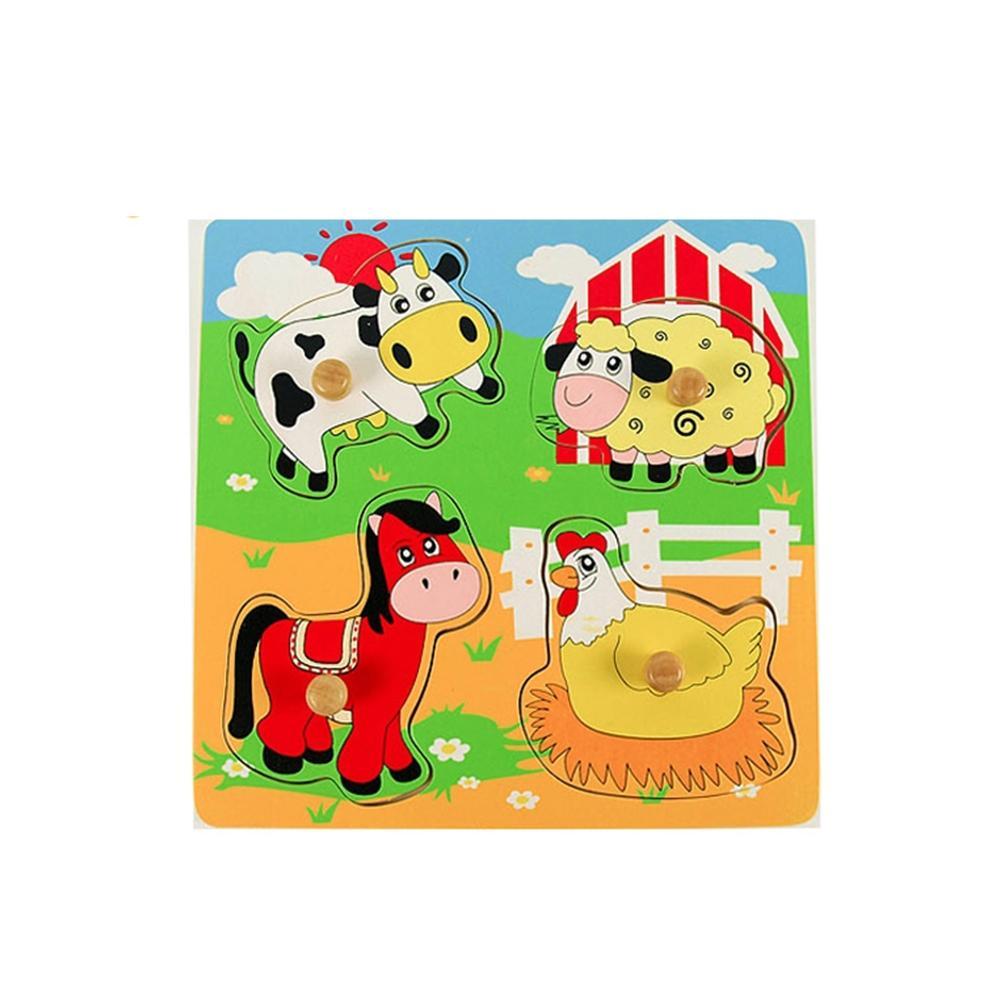 장난감 유아 어린이 놀이 궁금해 퍼즐 가축동물 아이 퍼즐 블록 블럭 장난감 유아블럭