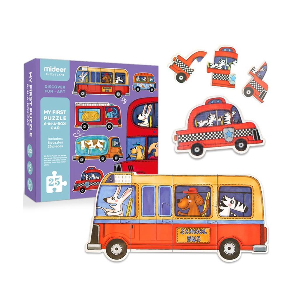 선물 3살 3세 유아 퍼즐 놀이 탈것 25P 어린이날 생일 퍼즐 어린이교구 창의교구 아동퍼즐 창작놀이