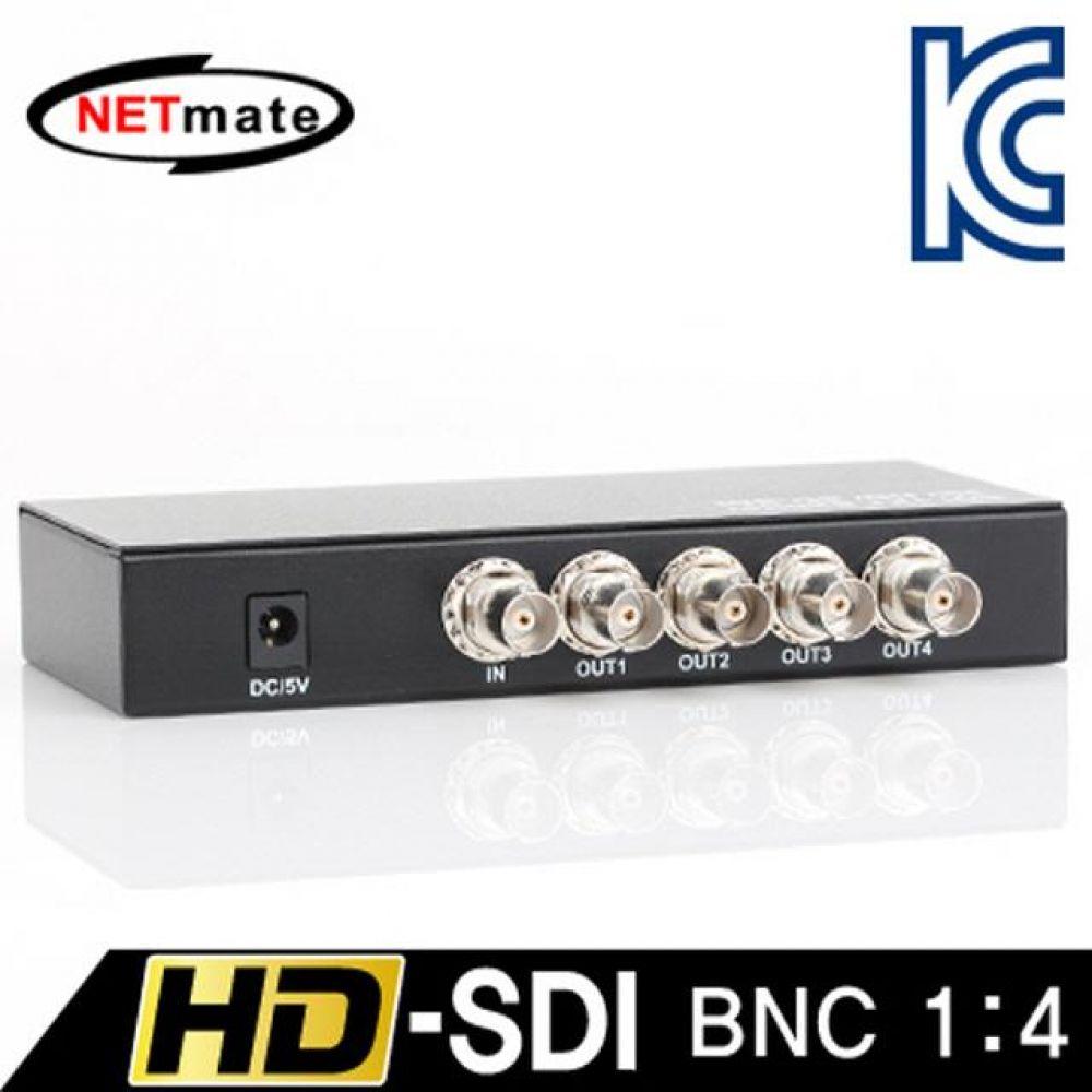 넷메이트 NM-SDS14 HD-SDI 지원 BNC 1대4 분배기 컴퓨터용품 PC용품 컴퓨터악세사리 컴퓨터주변용품 네트워크용품 무선공유기 iptime 와이파이공유기 iptime공유기 유선공유기 인터넷공유기