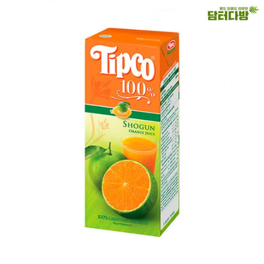 (Tipco) 팁코 오렌지 200ml x 24개 팁코 혼합쥬스 오렌지 팁코쥬스 팁코주스 팁코혼합주스 팁코오렌지주스 팁코오렌지 누구나좋아하는팁코