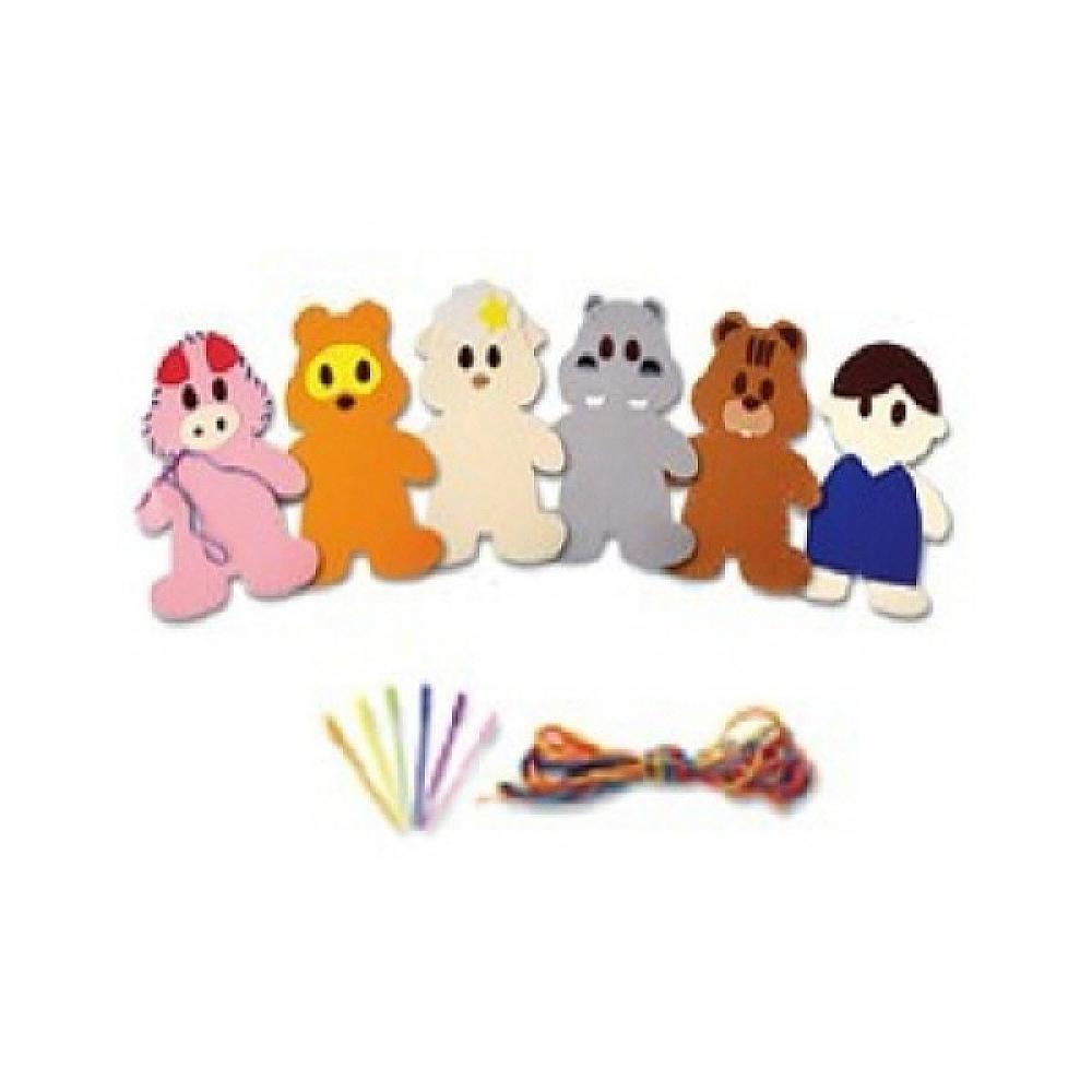 장난감 아동 유아 교구 어린이 바느질 놀이 동물2번 유아원 장난감 2살장난감 3살장난감 4살장난감
