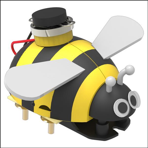미니 꿀벌 진동로봇 5인용 과학교구 두뇌발달 DIY 과학키트 만들기 향앤미