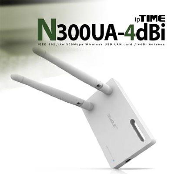 N300UA_4dbi 11n USB 무선 랜카드 컴퓨터용품 컴퓨터부품 유무선랜카드 USB랜카드 컴퓨터주변기기