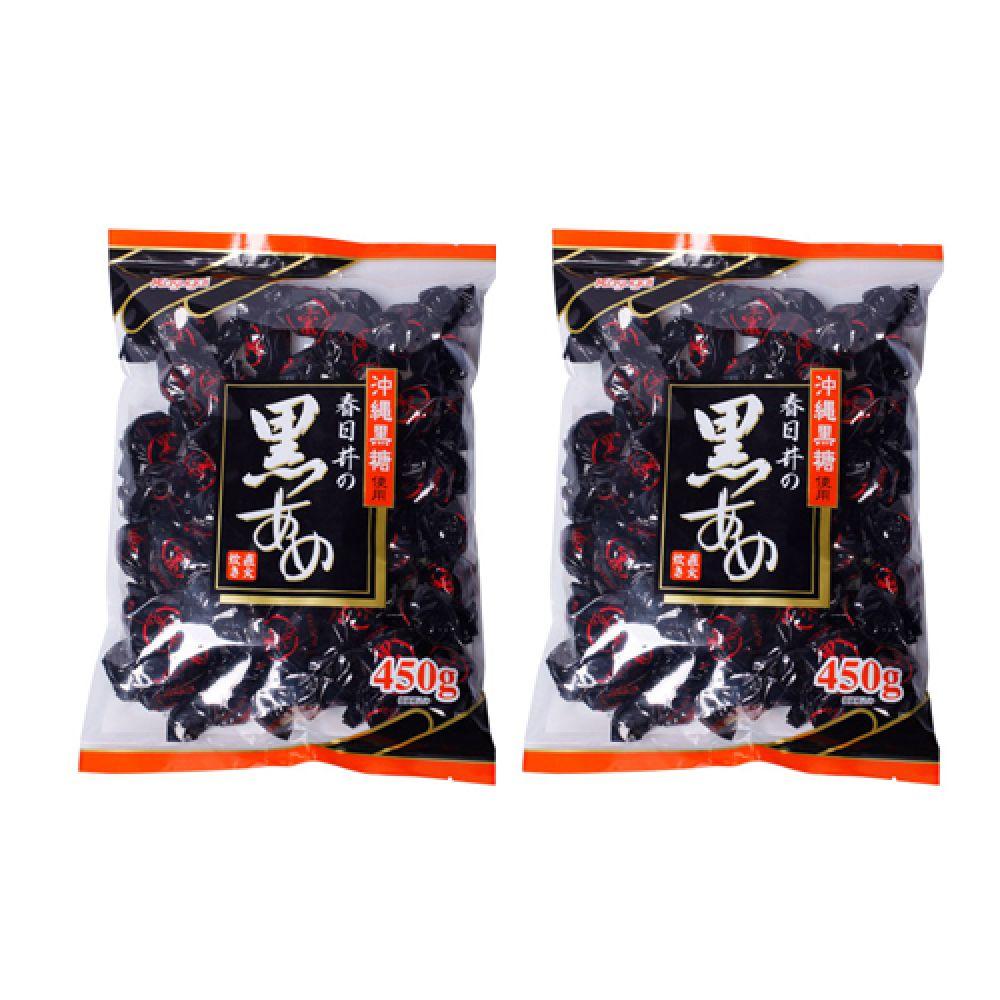 카스가이 흑사탕 450g X 2개 카스가이 흑사탕 수입사탕 옛날사탕 캔디