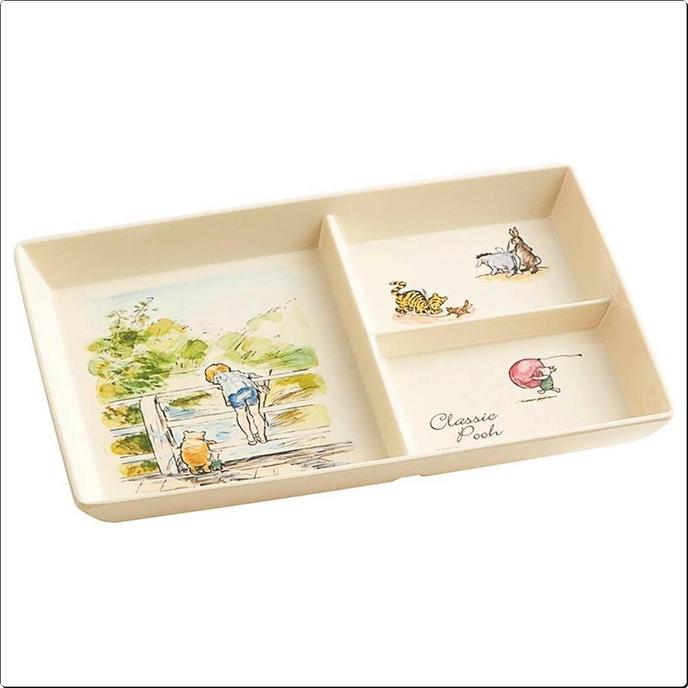 곰돌이푸우 클래식 컬러 플레이트 (사각식판) 캐릭터 캐릭터상품 생활잡화 잡화 유아용품
