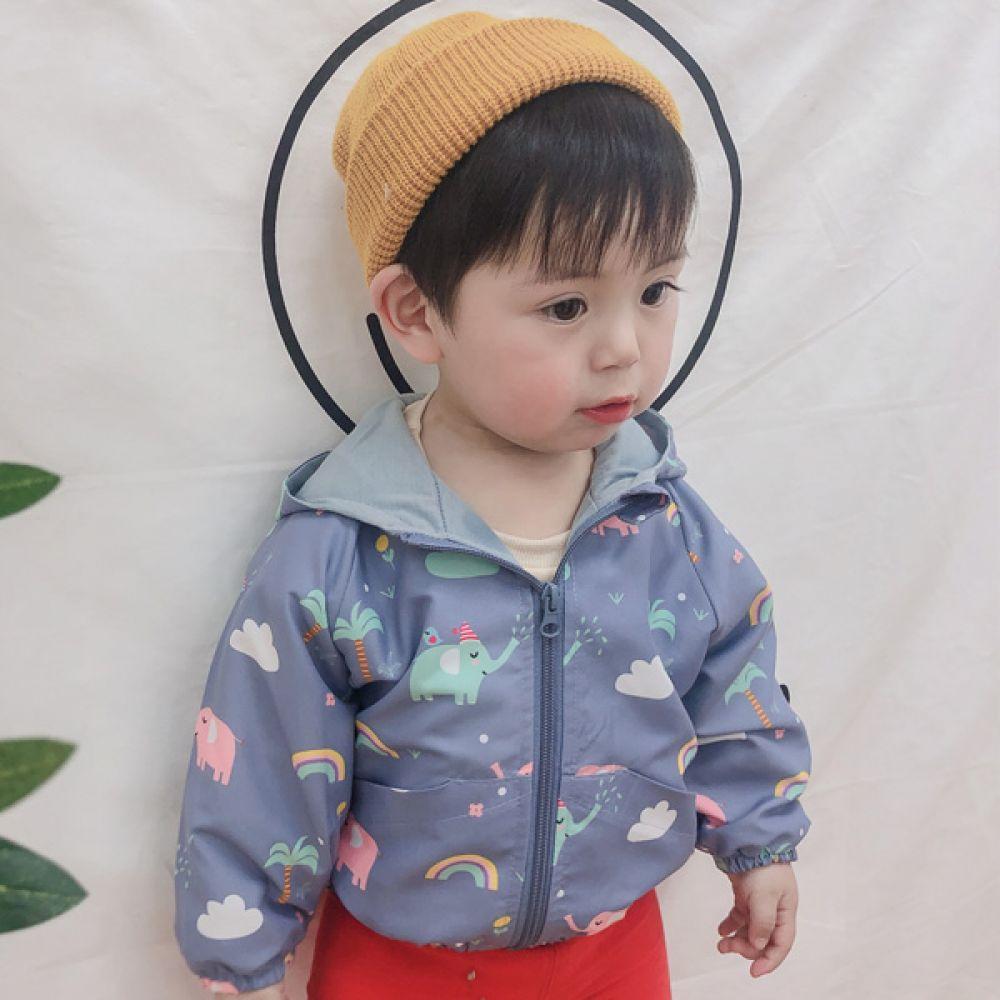 팡팡 유아 바람막이 점퍼(0-5세) 203797 아기점퍼 유아점퍼 아기잠바 유아잠바 아기외투 유아외투 아기집업 유아집업점퍼 아기겉옷 유아겉옷