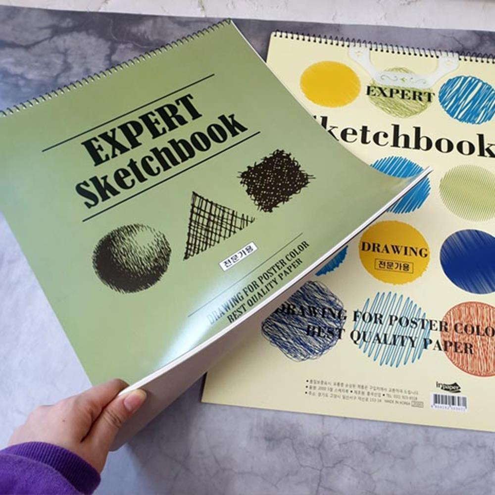스케치북 전문가용 5절 문구 미술책 색칠북 미술북 미술북 색칠공부 그림그리기 색칠하기 색칠북
