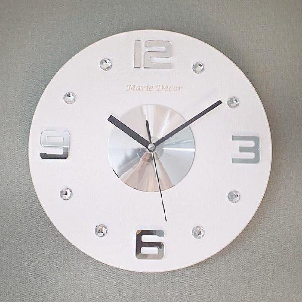 넘버포인트 무소음 오픈 벽시계 (화이트) 벽시계 벽걸이시계 인테리어벽시계 예쁜벽시계 인테리어소품