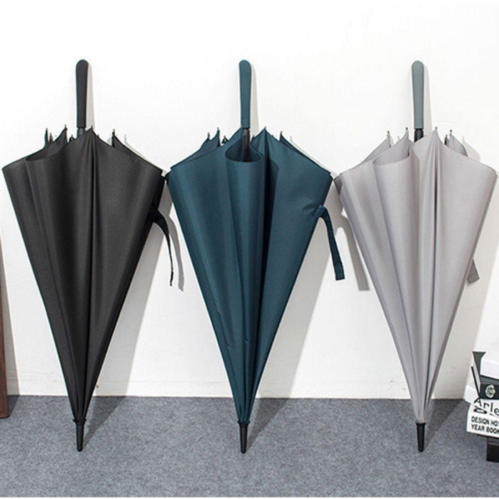 모던심플한 디자인 반자동 장우산 우산 장우산 우산용품 생활용품 여름용품