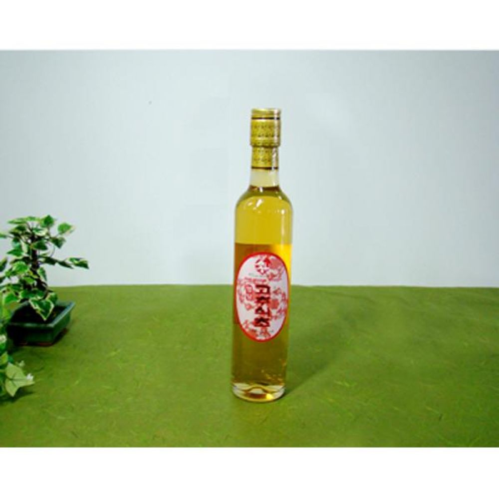 류충현 고추식초 360ml 원료의 맛과 향이 살이있는 고급 음용 식초 건강 식품 버섯 고추 식초
