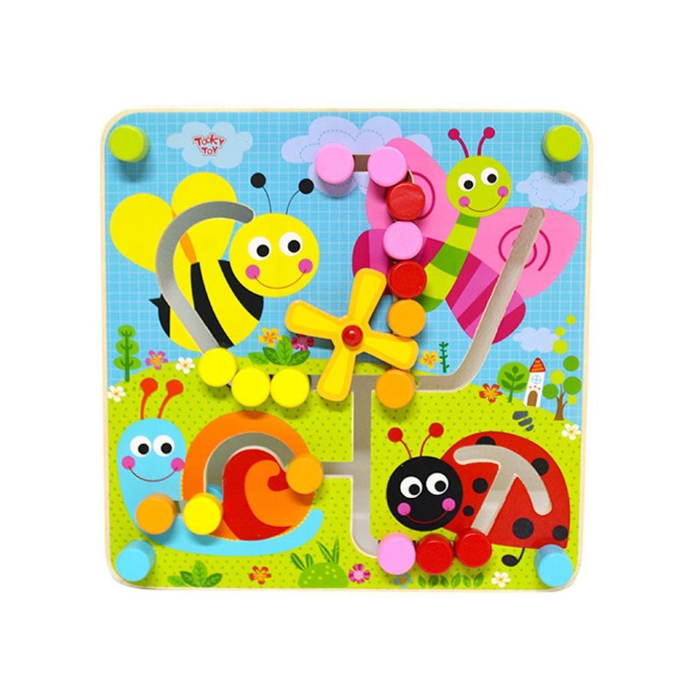 선물 유아 학습 아동 놀이 미로 퍼즐 아이 장난감 퍼즐 블록 블럭 장난감 유아블럭