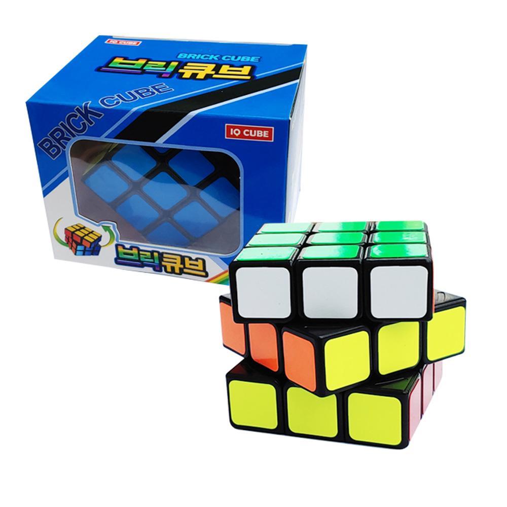 지능개발 3x3 브릭 큐브 소형사이즈 큐브 브릭 퍼즐 아이큐 두뇌게임