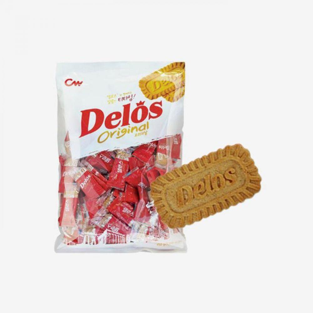청우 델로스 오리지날 950g 5개 1박스 청우식품 간식 주전부리 스낵 과자 캔디 델로스
