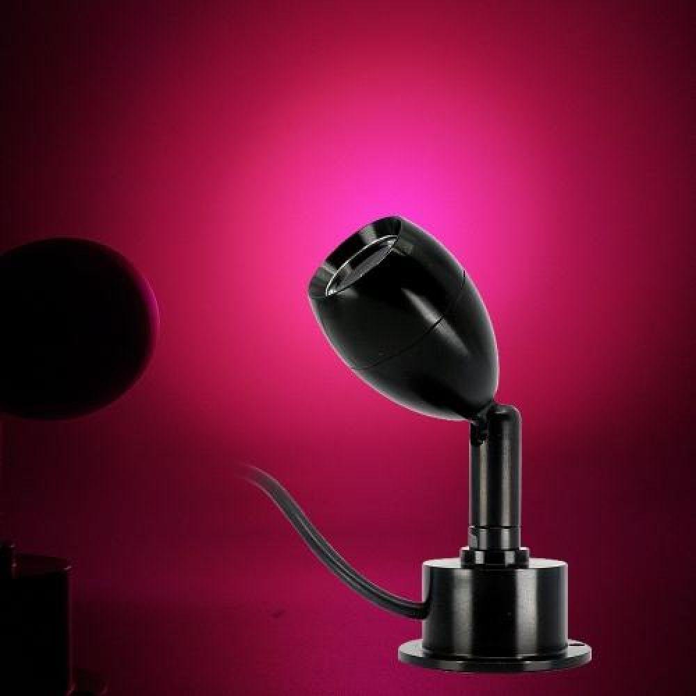 MWSHOP 5V용 USB 스위치 LED미니 써치등 핑크LED 무드등 엠더블유샵
