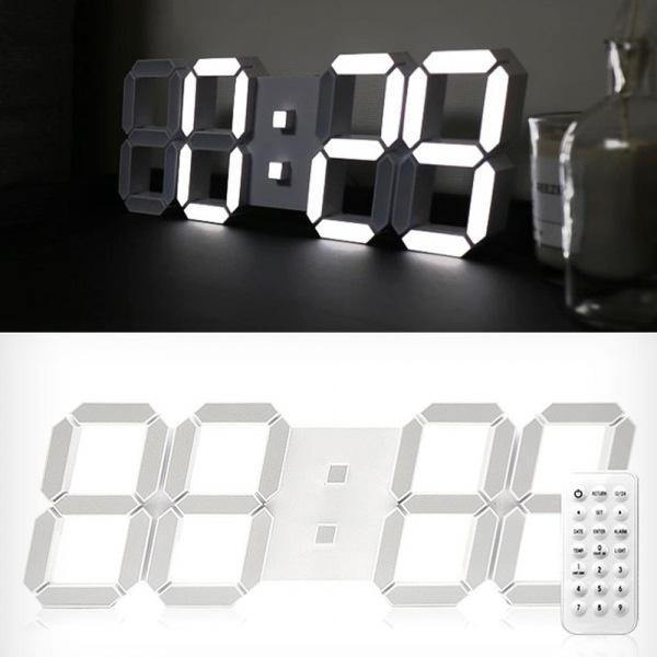 인테리어 선물용 3D LED 대형 벽시계