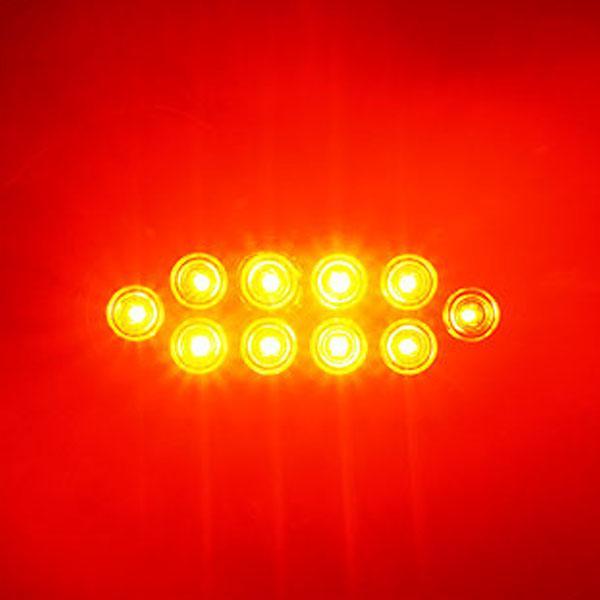 12V용 2WAY 타원형 LED테일라이트-레드색상 차폭등 사이드램프 노면등 윙바디램프 차량폭인식 차폭인식 화물차 탑차 봉고 포터 하이빔 밝기조절모듈