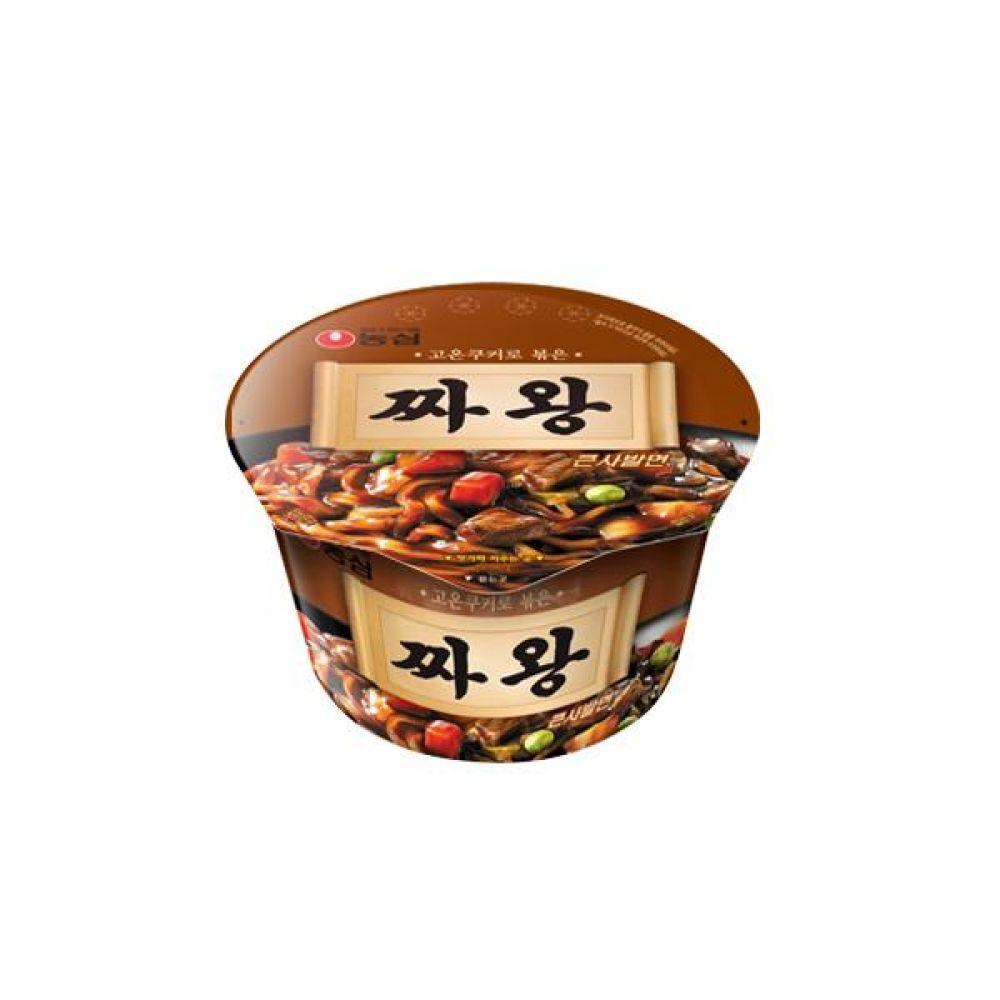 농심)짜왕 큰사발 x 16개 라면 컵라면 사발면 간식 식사