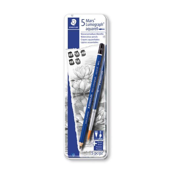 스테들어 마스 루모그라프 수채화 그라데이션 연필세트 100A G6