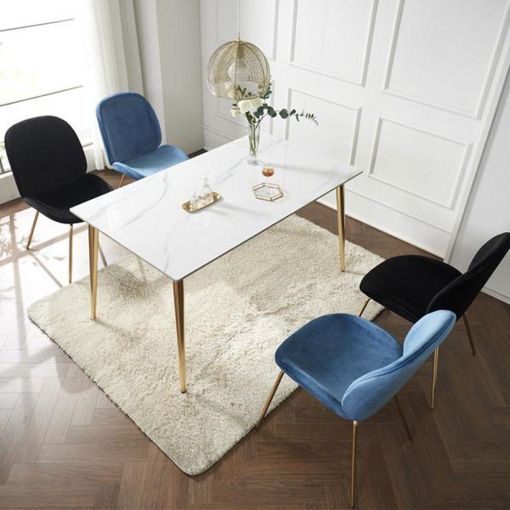 심플라인 세라믹 골드 식탁 세트 1400 테이블 다용도상 거실테이블 티이블 미니테이블