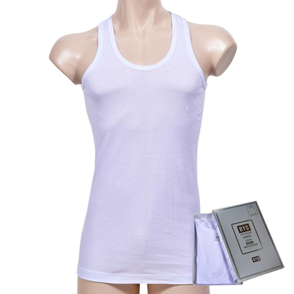 (BYC)(BYI6038/100수2호)고급100수 그랜드남성런닝-110 남자속옷 남성속옷 남자런닝 남성런닝 100수