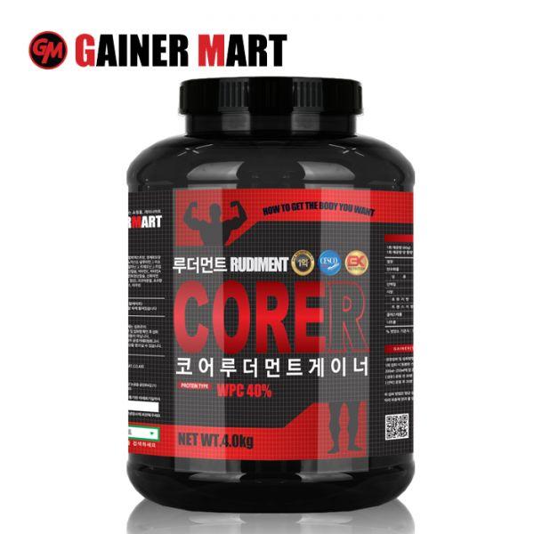 [게이너마트] 코어 R(루더먼트) 게이너 4kg 보충제 게이너마트 단백질 쉐이크 운동