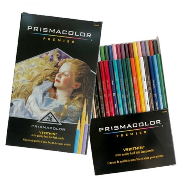 VH00005836 SANFORD 센포드 프리즈마 베르신 색연필 36색 세트 [제작 대량 도매 로고 인쇄 레이저 마킹 각인 나염 실크 uv 포장 공장 문의는 네이뽕]
