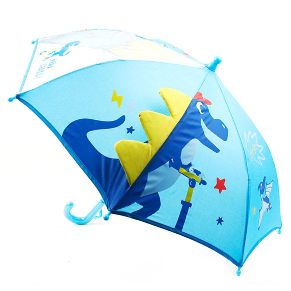 다이노 라이딩 우산 40 공룡 입체 아동우산 WT0273 입체공룡우산 공룡입체우산 장우산 유아장우산 공룡우산 아동우산 어린이우산 유아동우산 초등학생우산 작은우산