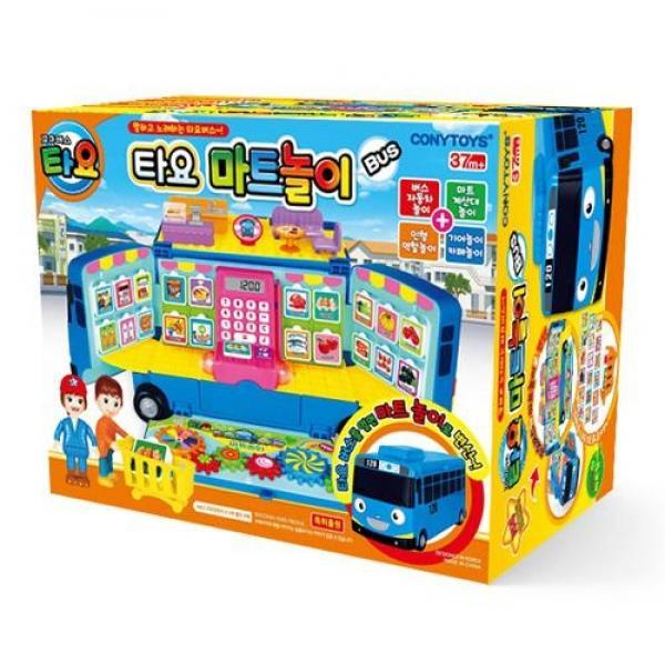 코니스 타요 마트놀이버스(30921) 장난감 완구 토이 남아 여아 유아 선물 어린이집 유치원