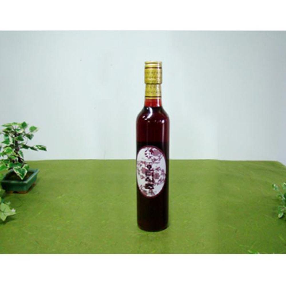 류충현 오디식초 360ml 원료의 맛과 향이 살이있는 고급 음용 식초 건강 식품 버섯 오디 식초