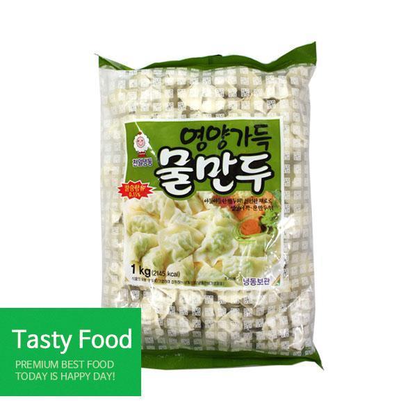 (냉동)천일 물만두1kgX10개 만두 천일식품 물만두 식자재 식품