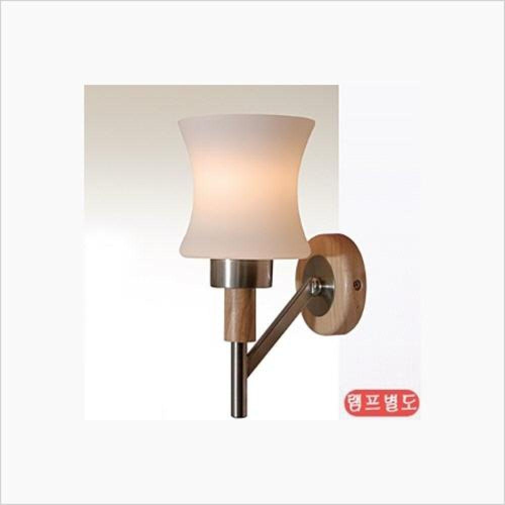 인테리어 조명기구 킨더 원목 1등 벽등 철물용품 인테리어조명 벽등 직부등 센서등 조명 전구 램프 백열등기구