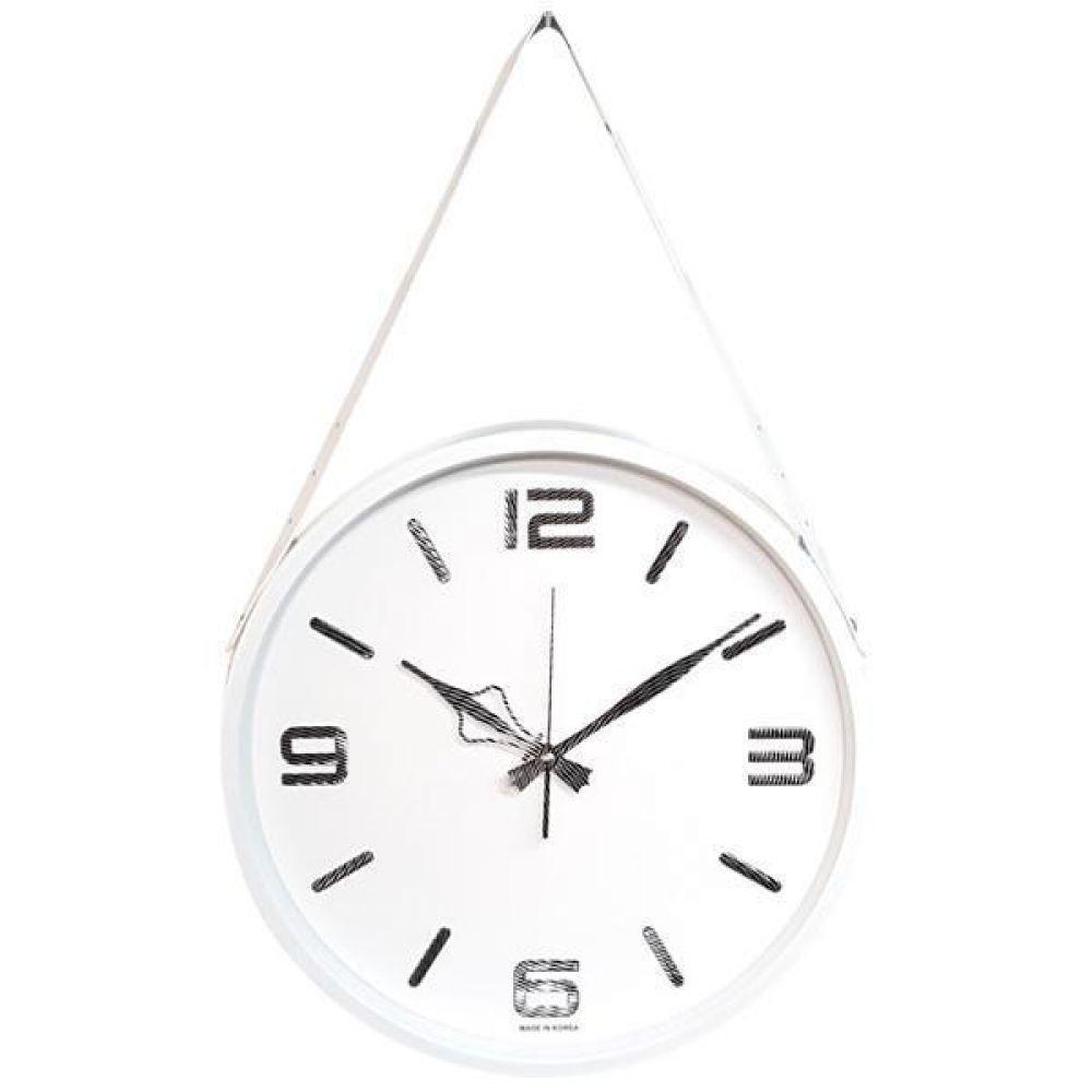 GB4591 고급인덱스 무소음 벽시계36.5cm 화이트 한국 벽시계 무소음벽시계 인테리어벽시계 모던벽시계 메탈벽시계
