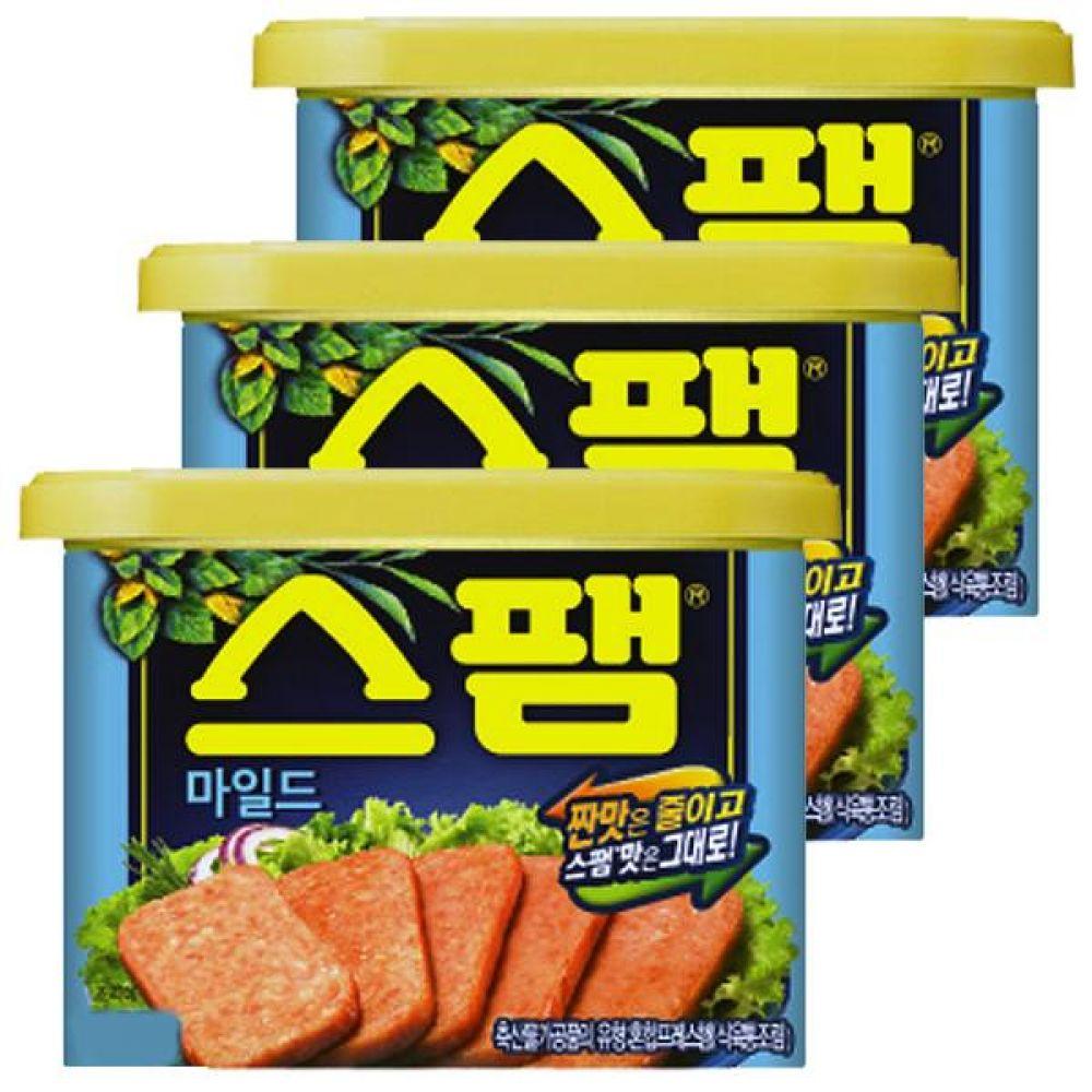 CJ)스팸 마일드 200g x 5개 햄 스팸 반찬 밥 소시지