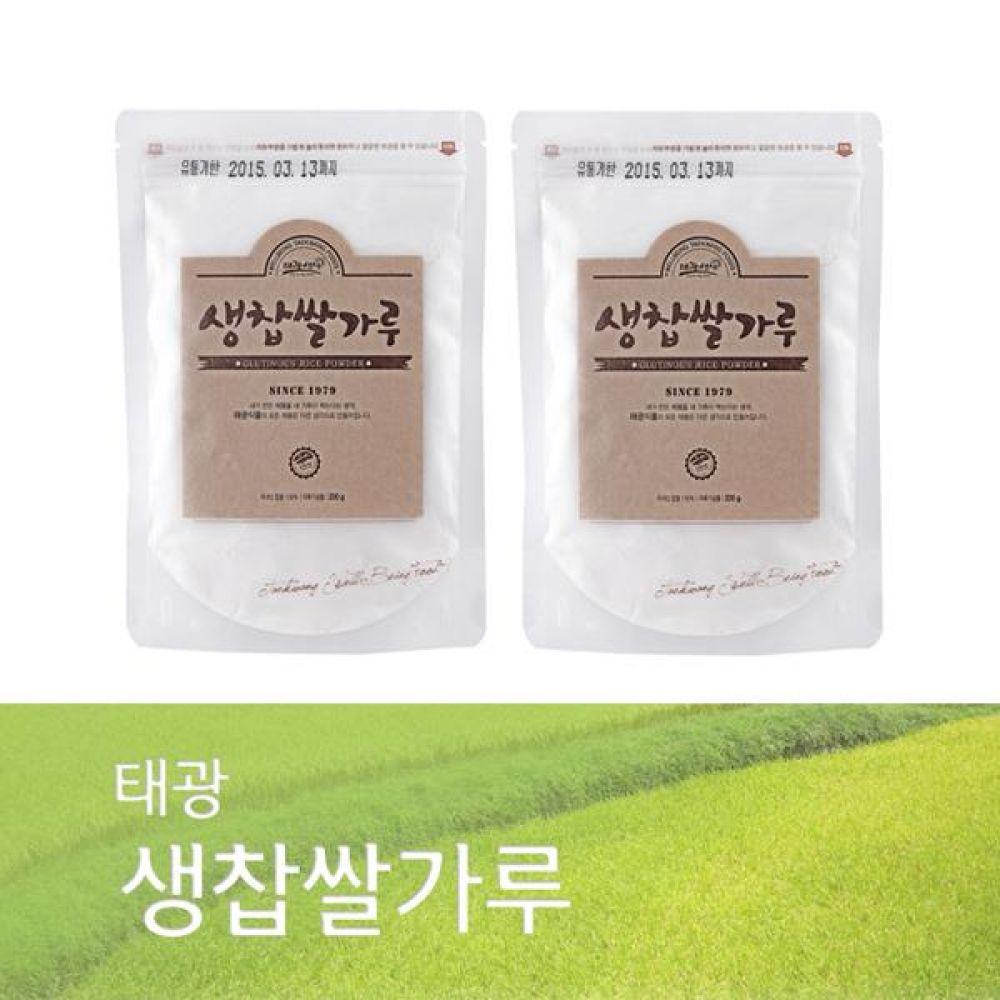 (박스단위 판매)생찹쌀가루 1Box(350g x 40개)국내산 찹쌀로만 만든 바른 먹거리 건강 곡물 간편식 잡곡 한끼