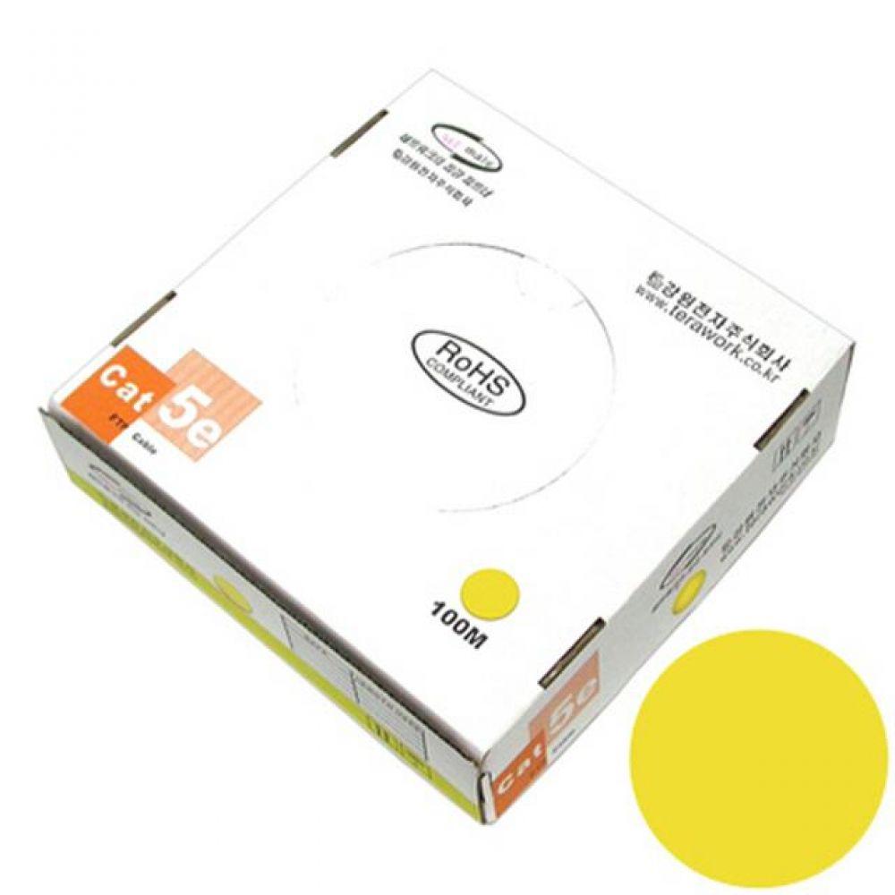 넷메이트 FTP 케이블 CAT.5e Yellow 단선 100M 컴퓨터용품 PC용품 컴퓨터악세사리 컴퓨터주변용품 네트워크용품 랜선 인터넷케이블 기가랜선 utp케이블 공유기 hdmi케이블 랜커플러 lan케이블 랜커넥터 평면랜케이블
