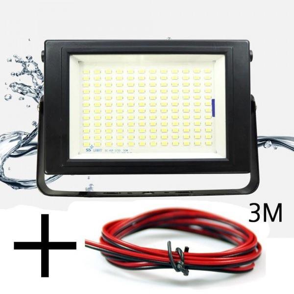 LED 투광기 KT 50W 작업등 4000루멘 12V-24V겸용 선3m포함 led작업등 led라이트 낚시집어등 차량용써치라이트 해루질써치