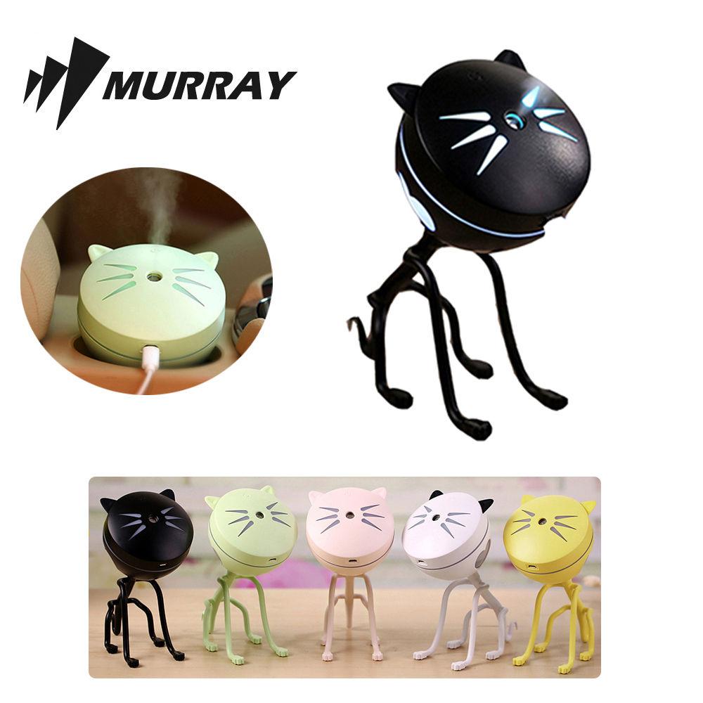 고양이 미니 가습기 MKHUMI-02 블랙 탁상용 사무용 가습 탁상용 사무용 미니 가습기