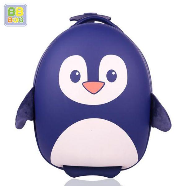 캐리어 남펭귄 비비백 캐릭터가방 윌리엄가방 생일선물 유치원 유아가방 아동가방 백팩 미아방지용 캐리어
