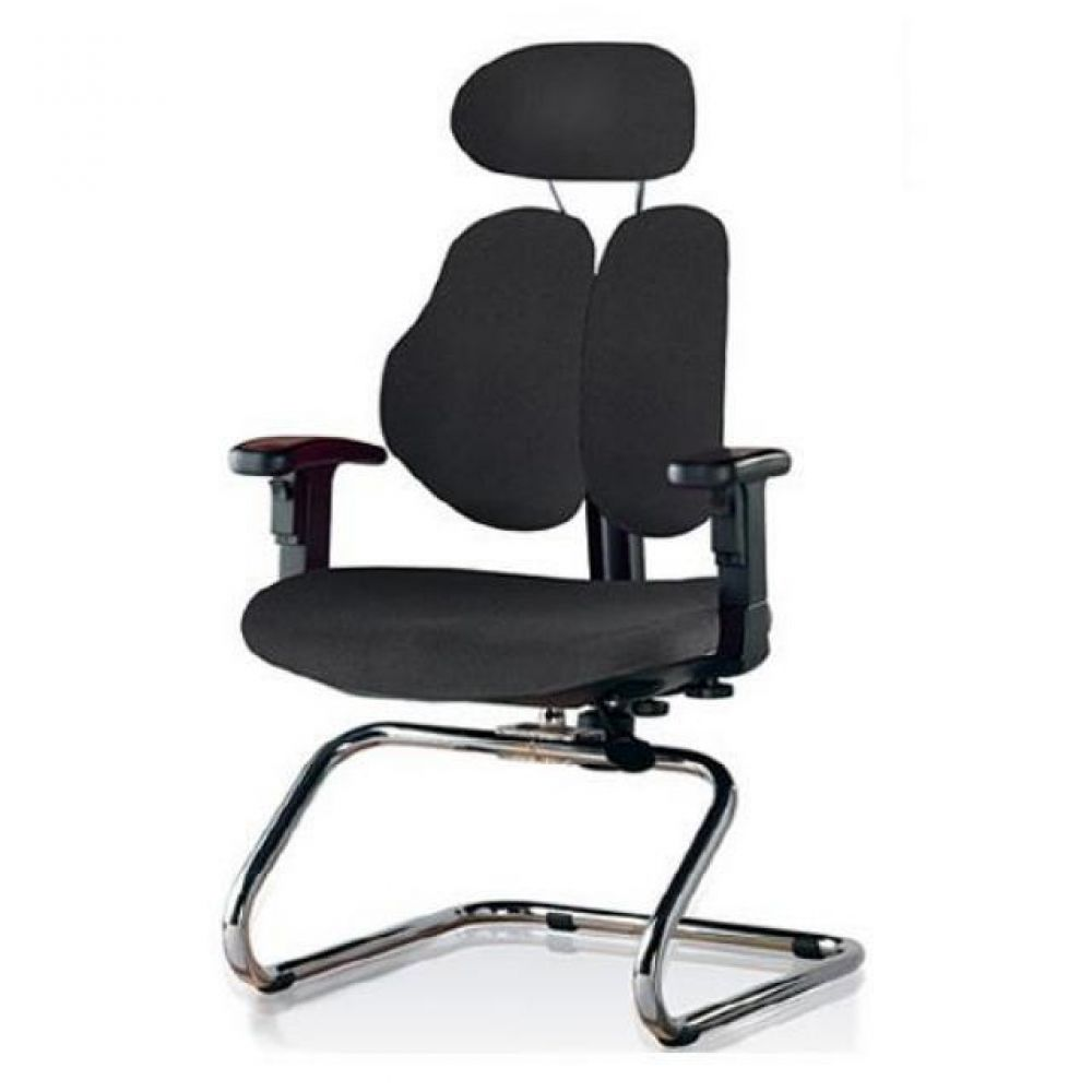 회의용 고정의자 휴보(대)(올쿠션) 521-PS505 사무실의자 컴퓨터의자 공부의자 책상의자 학생의자 등받이의자 바퀴의자 중역의자 사무의자 사무용의자