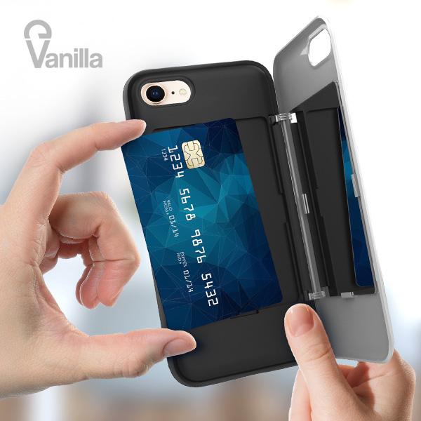 갤럭시노트8 N950 바닐라 카드미러 범퍼케이스 갤럭시 노트8 N950 카드 미러