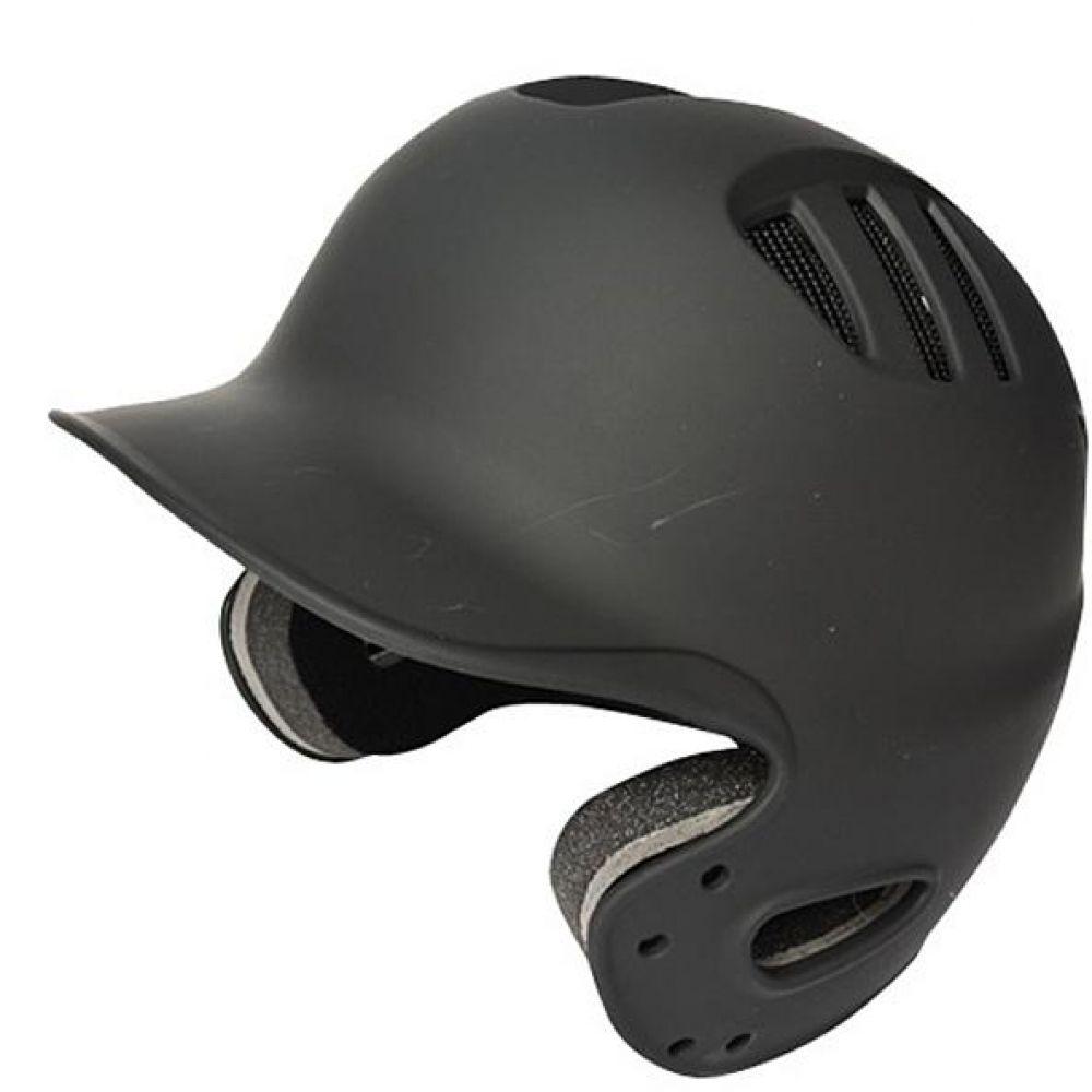 브렛 사이즈조절형 양귀 야구헬멧 무광블랙 타자헬멧 야구용품 야구헬멧 스포츠헬멧 타자헬멧 타자보호헬멧 양귀헬멧