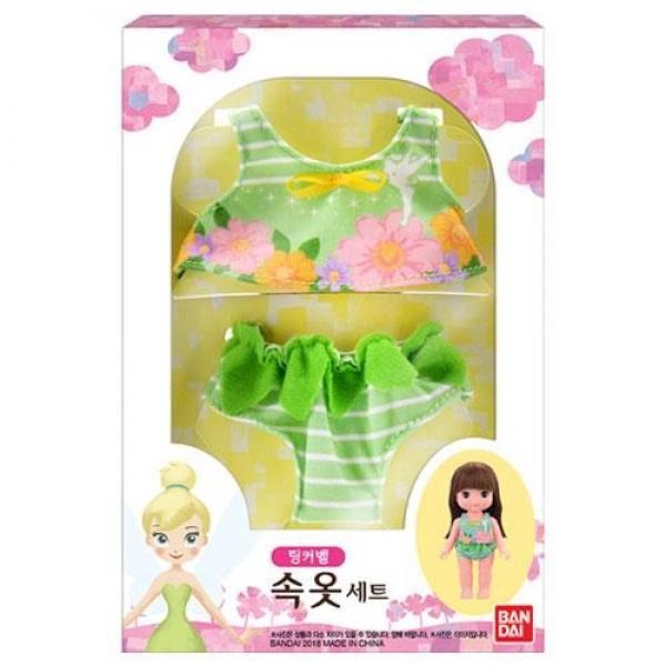 반다이 내품에쏘옥 레미&솔라 팅커벨 속옷세트(93846)