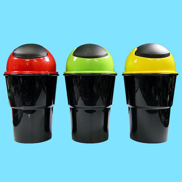 컵홀더 휴지통 소형. 쓰레기통 휴지통 음료수통 더스트백 컵홀더 홀더