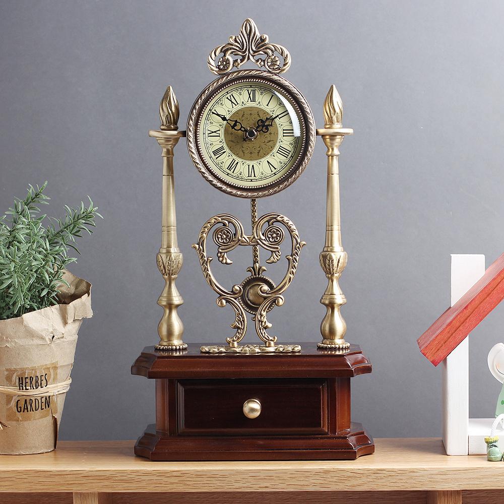 아트피플-A247 청동 오리엔탈 탁상 추시계 시계 탁상시계 엔틱시계 앤틱시계 스탠드시계