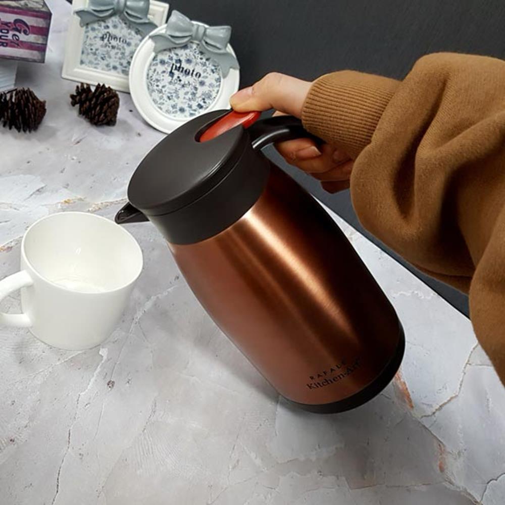스테인리스 보온포트1L 주방조리가전 주방가전 티포트 멀티포트 주방조리가전 전기물끓이기 주방가전 커피포트