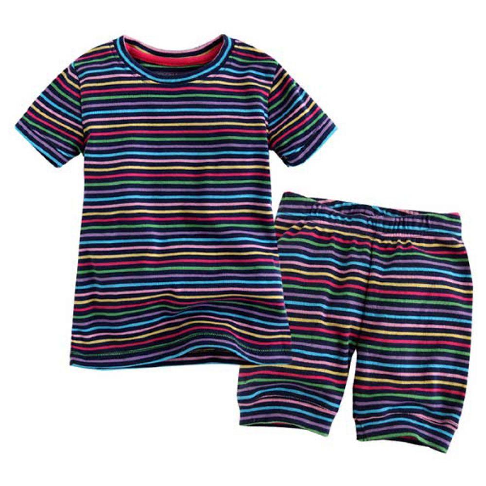 네이비 스트라이프 반팔 상하복(12개월-5세)300079 아기외출복 백일아기옷 아기룸퍼 6개월아기옷 아기룸퍼 돌아기옷 신생아외출복 베이비롬퍼