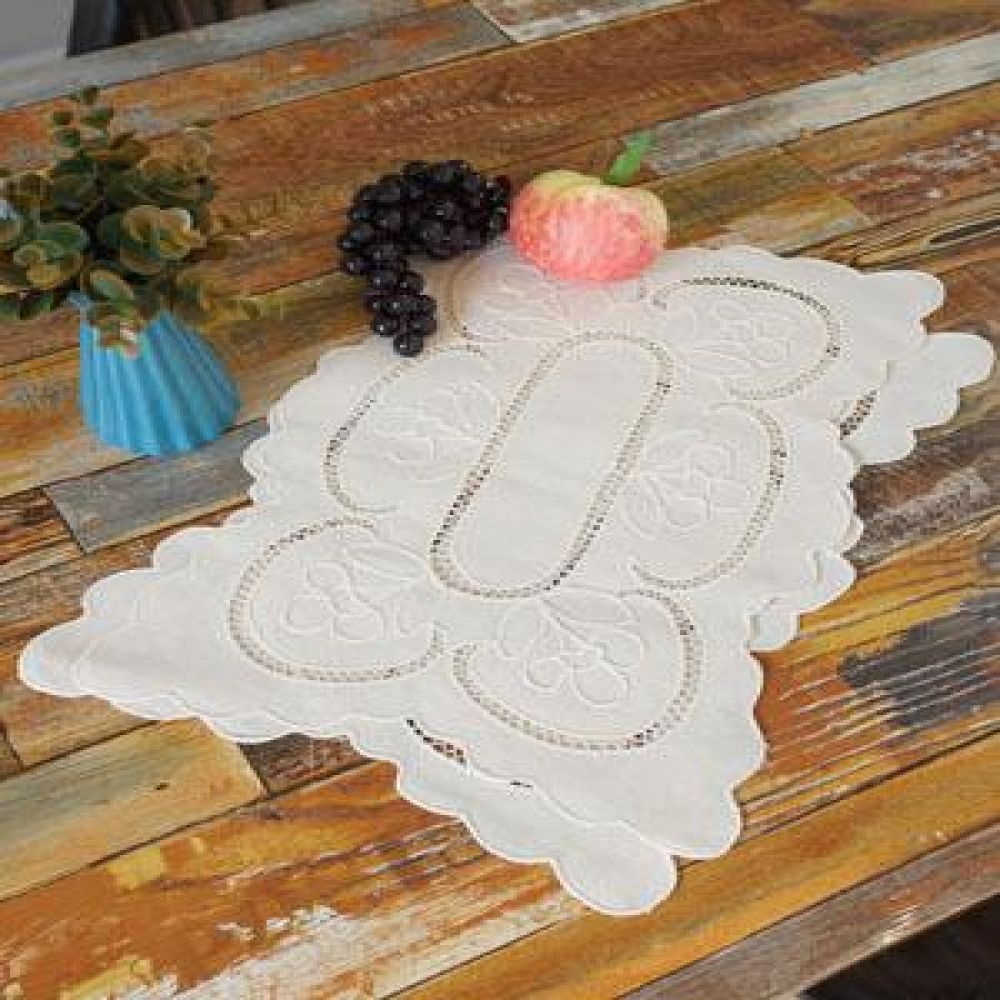 린넨 티 테이블 매트 2P 주방용품 주방소품 장식소품 인테리어소품 식탁매트